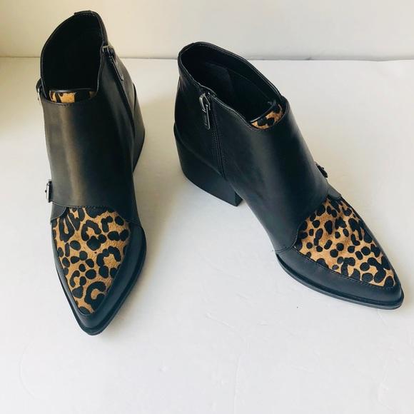 e950311356e210 Circus by Sam Edelman Shoes - Circus Sam Edelman Leopard Print Reese Ankle  Boot